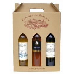 Coffret 3 vins Domaine de Bournet (Mystére)