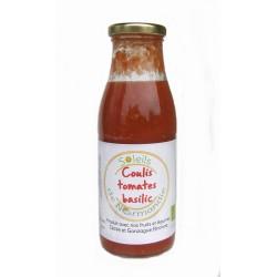 Coulis de tomates-basilic bio 500ml Soleil de Normandie