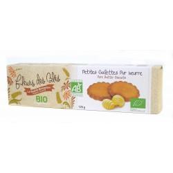 Petites galettes pur beurre bio 125g Fleus des blés