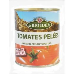 Tomates pelées bio familial 800 g BioIdea