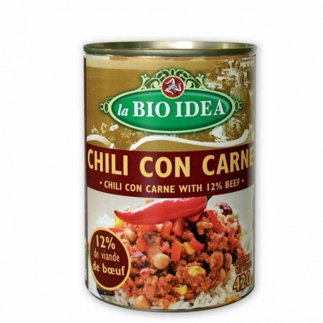 Chili con carne bio 420 g Bio Idea