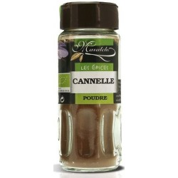 Cannelle bio moulue 28g Masalchi