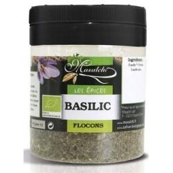 Basilic bio en flocons 40 g Masalchi