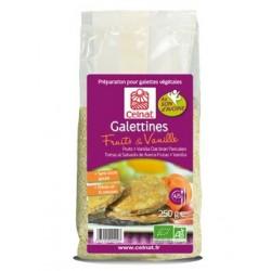 galettines avoine, fruits et vanille bio 250g