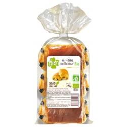 6 pains au chocolat bio 270g