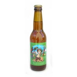 Bière rousse de printemps bio 33cl Conte et Fleurette