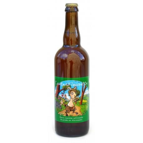 Bière rousse de printemps bio 75 cl Conte et Fleurette
