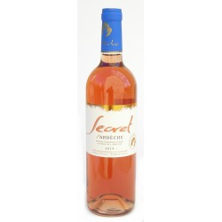 Rosé bio Secret D'Ardèche 2016 75 cl