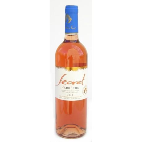Rosé bio Secret D'Ardèche 2016 75 cl