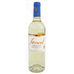 Blanc Secret D'Ardèche bio 75 cl