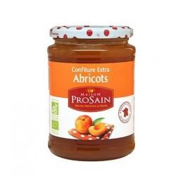 Confiture extra d'abricots bio 350g Prosain