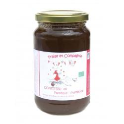 Confiture bio pastèque framboise 380 g