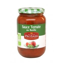 Sauce tomate basilic bio 370g Prosain