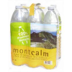 Pack eau de source Montcalm 6 x 1,5 l