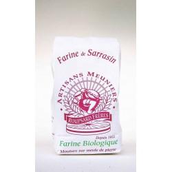 Farine de sarrasin bio 500 g Moulins Roupsard