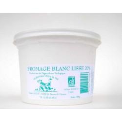 Fromage blanc lissé 0% bio 500 g