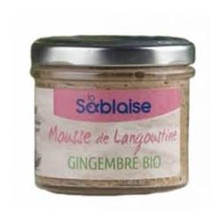 Mousse de langoustine au gingembre Bio 90g