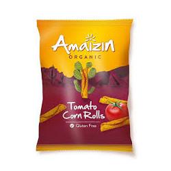 Corn rolls tomato bio 100 g Amaizin