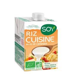Soy crème riz cuisine 20cl