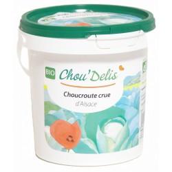 Choucroute crue bio seau 1 kg