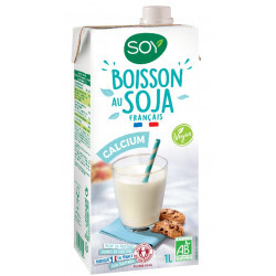 Boisson au soja bio calcium 1 l Soy