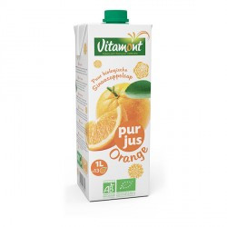 Jus d'orange Tetra bio 1 l Vitamont