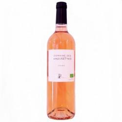 Vin rosé bio Domaine des Jardinettes 2016 75cl
