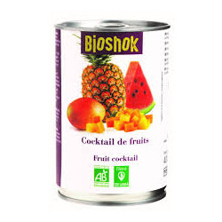 Cocktail de fruits bio 400 g Bioshok