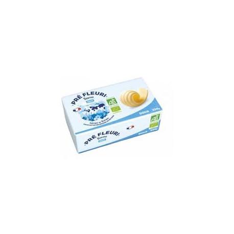 Beurre doux bio 250 g Prè Fleuri