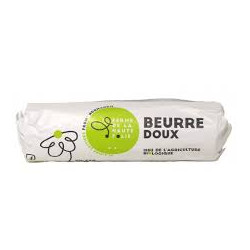 Beurre cru doux de baratte bio 200g Ferme de La Haute Folie
