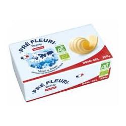 Beurre 1/2 sel bio 250 g Prè Fleuri