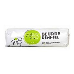 Beurre cru 1/2 sel de baratte bio 200g Ferme de La Haute Folie