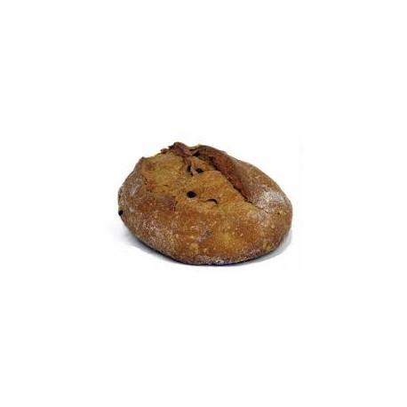 pain raisins noisettes 500g Le jour du pain