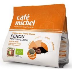 Café du Pérou bio 18 dosettes