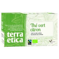 Thé vert citron bio x 20 Terra Etica