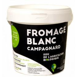 Fromage blanc de campagne bio 500 g Ferme de la Haute Folie