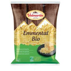 Emmental râpé bio 1 kg Valmartin