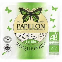 Roquefort bio tranche de 100g Papillon