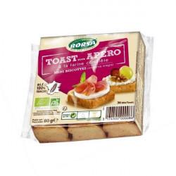 Mini toast bio apéro x36 80 g Borsa