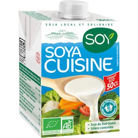 Soya cuisine bio 50cl Soy