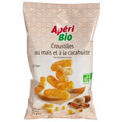 Croustilles maïs cacahuète bio 75 g ApériBio