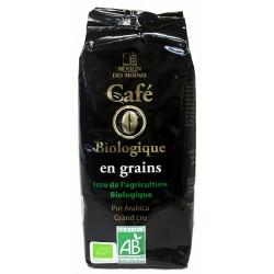 Café en grain pur arabica bio 250g Moulin des moines