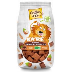 Ka'ré fourré chocolat noisettes bio 500g Grillon d'Or