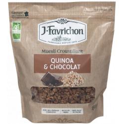 Muesli croustillant quinoa-chocolat 450 g
