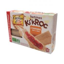 Tartines Ki'Kroc 3 céréales bio 270 g