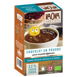 Chocolat en poudre 32% de cacao 400 g bio Kaoka