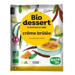 Bio Gourmandises crème brûlée 80g