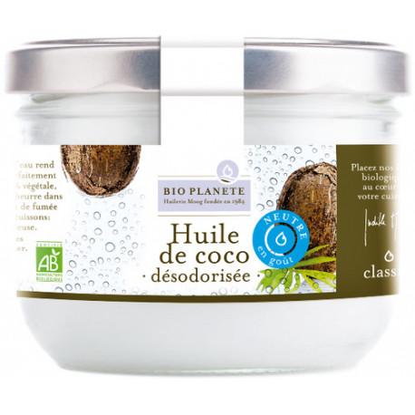 Huile coco désodorisée 400ml Bio planète