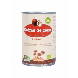 Crème de coco bio 400 ml La maison du coco