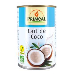 Lait de coco bio 400 ml Priméal